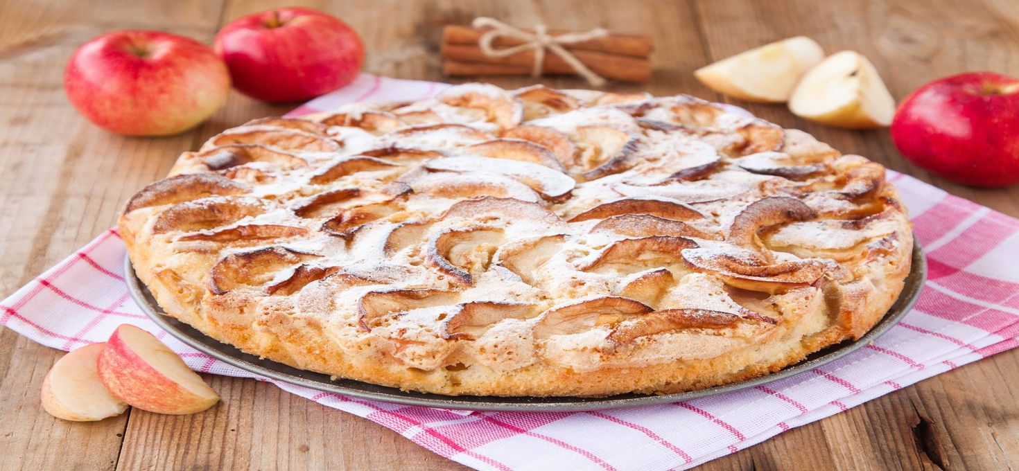Пирог яблочный «Голландский»
