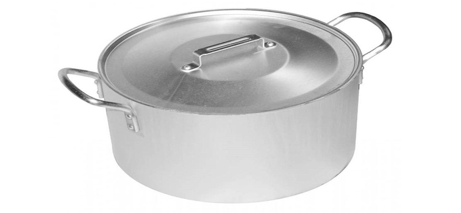 Делаем новой пожелтевшую алюминиевую посуду